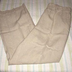 Charter Club Linen Pants 1539